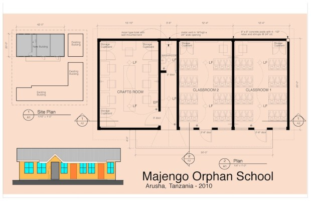 Project no 1 majengo orphan school arusha primary for School project plan