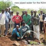 14. Kilimamoja-Ph1-new piped water for Kilimamoja School