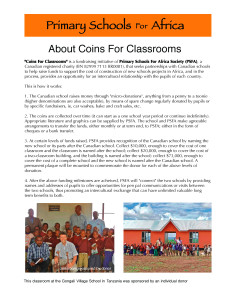 About CoinsForClassrooms