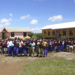 celebrating opening of final 3 classrooms