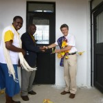the official ribbon-cutting